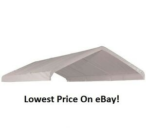Image is loading 10x20x9-039-6-Costco-ShelterLogic-Replacement-Canopy-Top-  sc 1 st  eBay & 10x20x9u00276 Costco ShelterLogic Replacement Canopy Top Cover for 1 3 ...