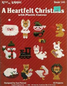 A-Heartfelt-Christmas-with-Plastic-Canvas-Kappie-Book-144-32-Projects-1990