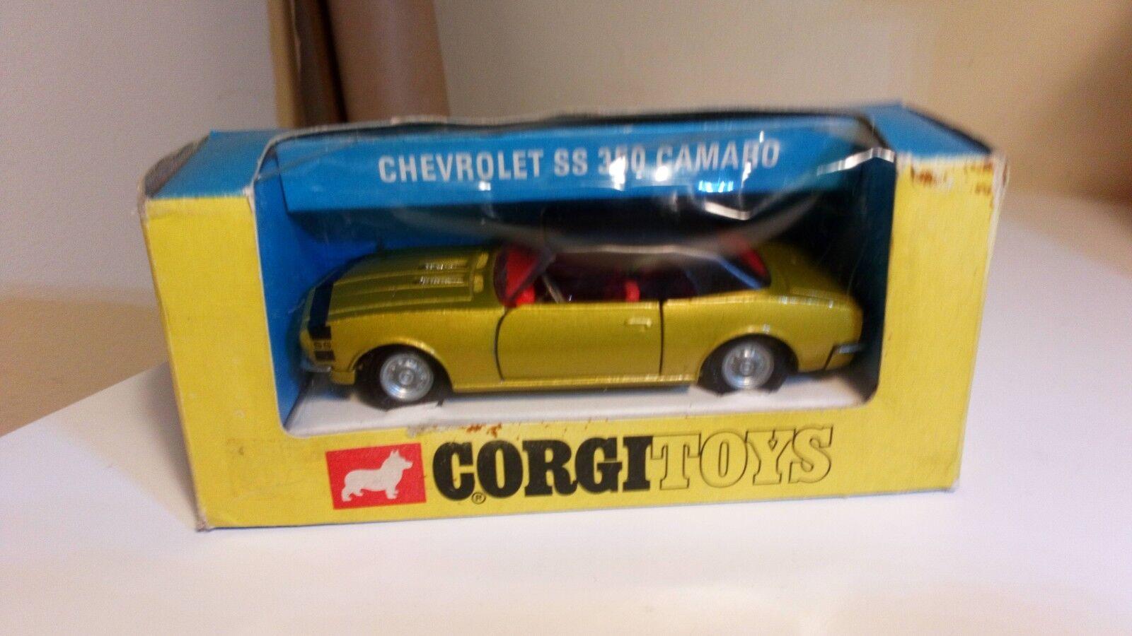 Chevrolet camaro ss 350 corgi.