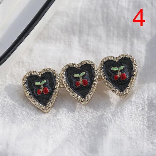 Fashiom Women Love Heart Pearl Hair Clip Hairpin Barrette Hair Accessories Gi/_vi