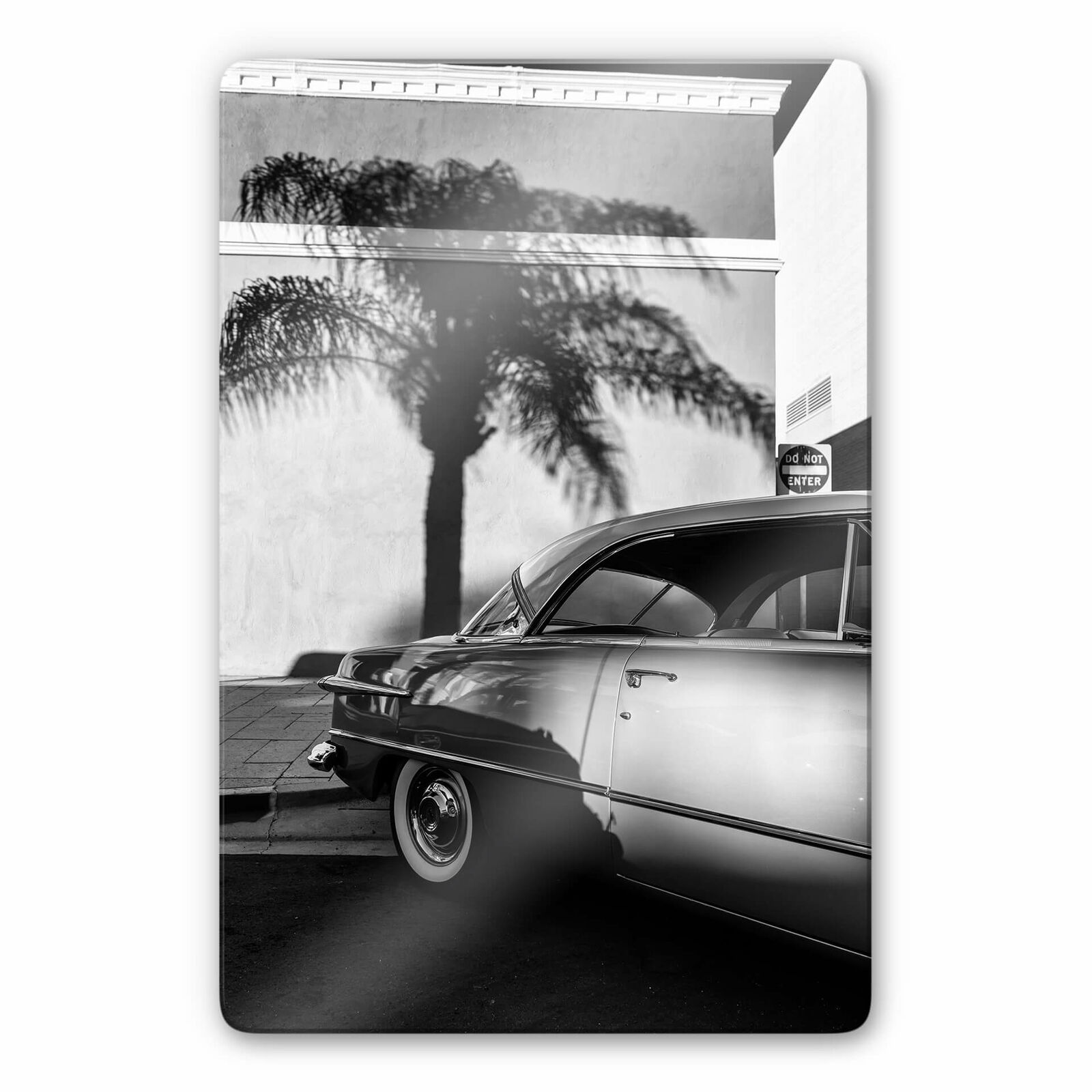 Glasbild Ochlich - Oldtimer in Palm Springs
