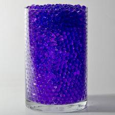 Purple Water Pearls Deco Jelly Beads Centerpiece Wedding Tower Vase Filler 8 oz