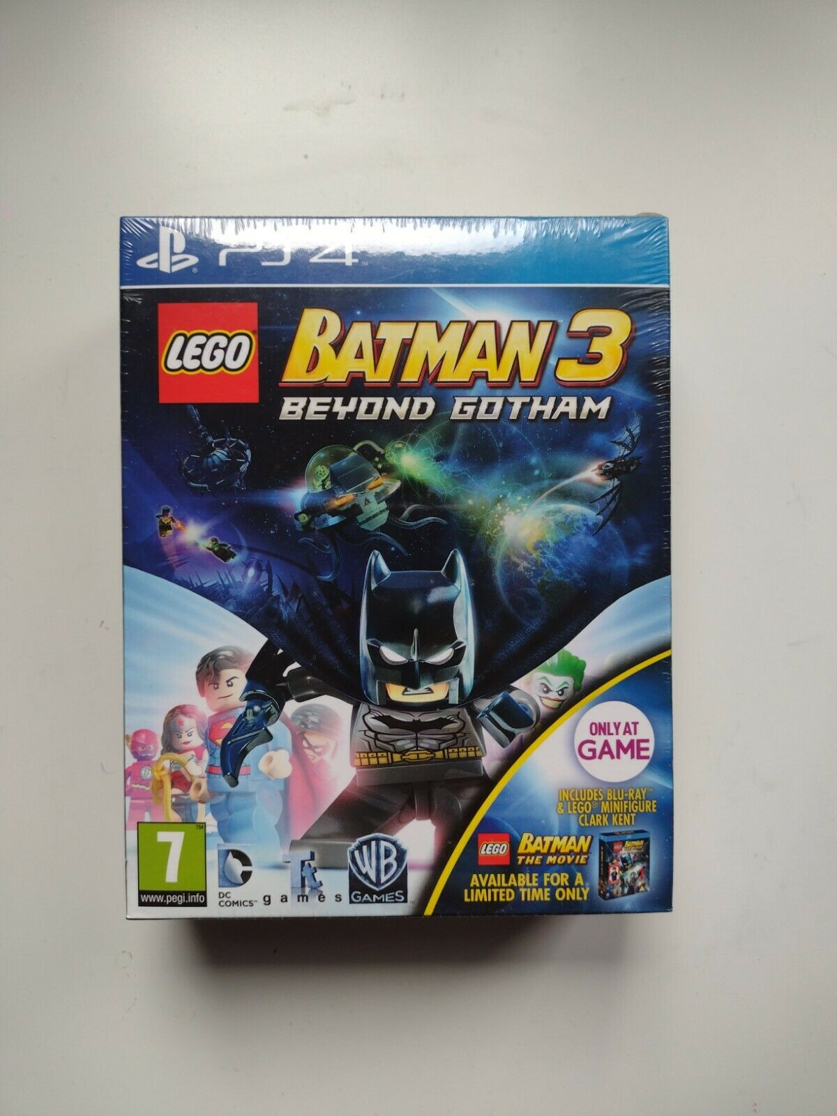 Lego Batman 3 PS4 Limited edition Clark Kent figure ULTRA RARE only one on ebay