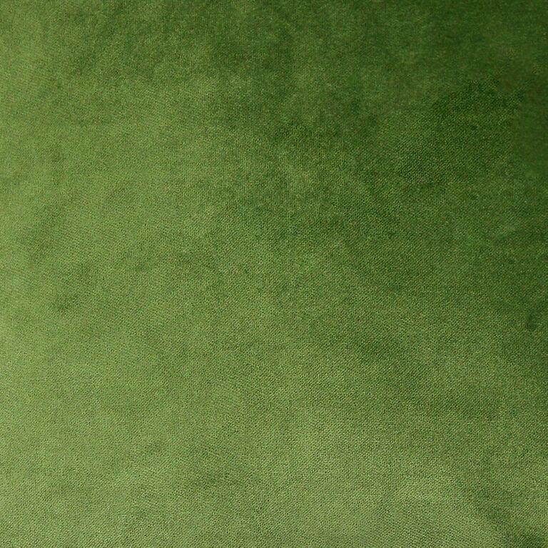 McAlister textiles   Matt Plain Fern Vert Velours Rideaux 90 x 90, coupure...