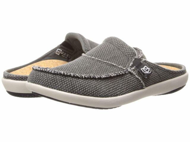 b91d83be779fd Spenco Siesta Slide Charcoal Grey Men's 7 Gray