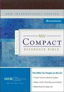 NIV Compact Reference Bible Hardcover Zondervan Publishing