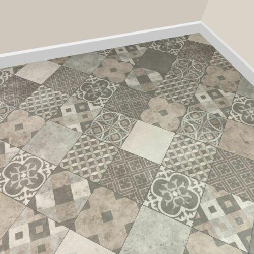 Slip Resistant Lino 2 or 4m Cushion Bathroom Kitchen Roll Sheet Vinyl Flooring