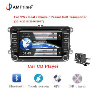 Autoradio-NAVI-DVD-GPS-CD-Fuer-VW-GOLF-5-6-PASSAT-TIGUAN-TOURAN-Sharan-POLO-Caddy
