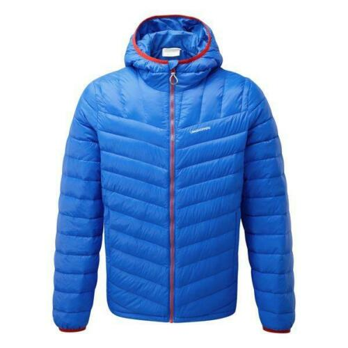 Craghoppers Mens Brompton Warm Padded Down Jacket in Sport Blue Small