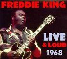 Live & Loud 1968 [Digipak] by Freddie King (CD, Jun-2014, Rockbeat Records)