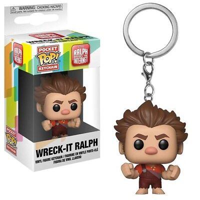 FUNKO POP! KEYCHAIN: Wreck-It Ralph 2 -Wreck-It Ralph [New Toy] Vinyl Figure