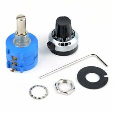 10k Ohm 3590s 2 103l Potentiometer 10 Turn Counting Dial Resistor Rotary Knob Us
