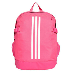 4bcc37eb99fd Image is loading Children-adidas-Power-IV-Backpack-Medium-Pink-Kids-