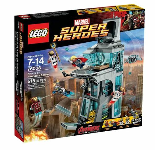 1 von 1 - LEGO® Marvel Super Heroes 76038 Attack on Avengers Tower NEU OVP NEW MISB  NRFB