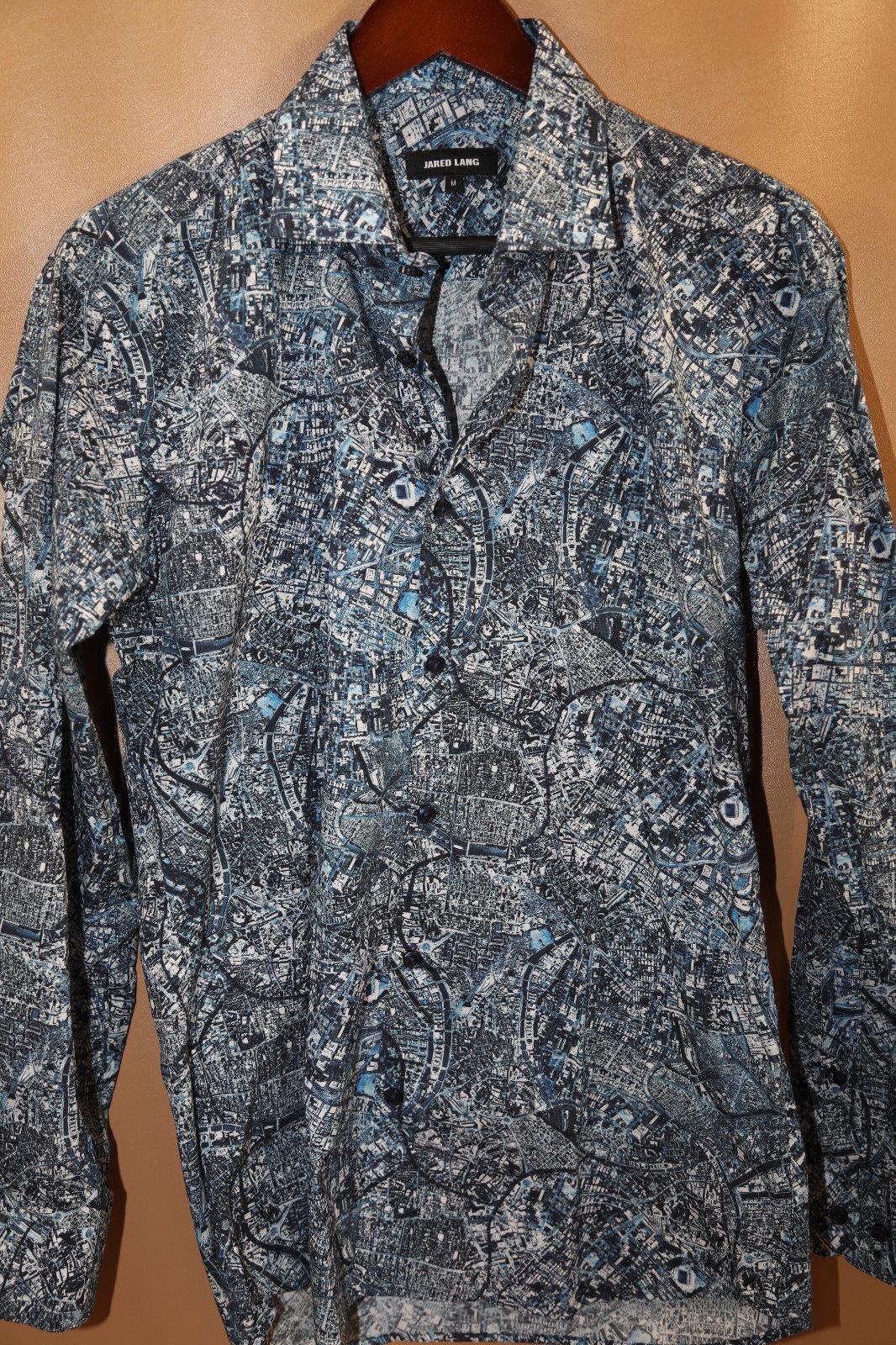 Jared Lang Paisley Sports Shirt Size M