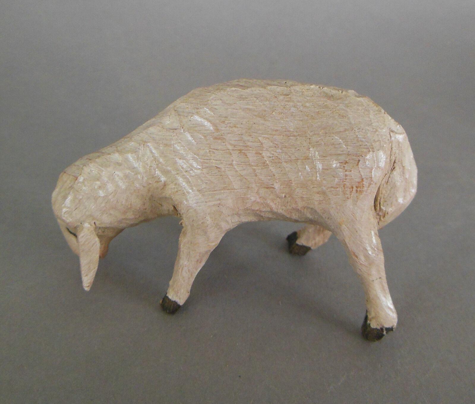 Schaf hell 2x,Schaf dunkler dunkler dunkler 1x,Zirbenholz bemalt Figuren Größe 13 - 14 cm Nr.11 | Modernes Design  9752c1