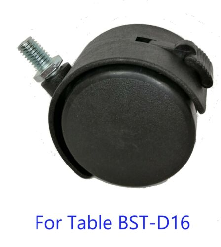 Wheels for optical motorized table replacement