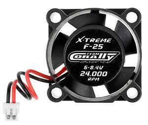 Team-Corally-C-53100-ESC-Ultra-Haute-Vitesse-Cooling-Fan-25mm-6v-8-4V