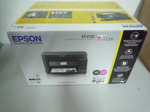 Epson EcoTank ET-4750 Multifunktions- Drucker 4-in-1 WLAN Wi-Fi Fax Kopieren NEU