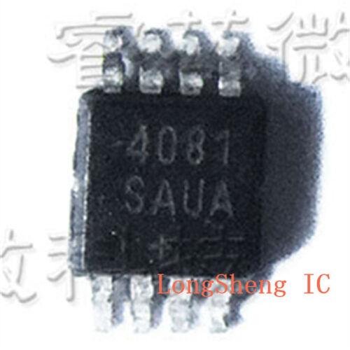 5PCS MAX4081 MAX4081SAUA 丝印 4081 MSOP8 new