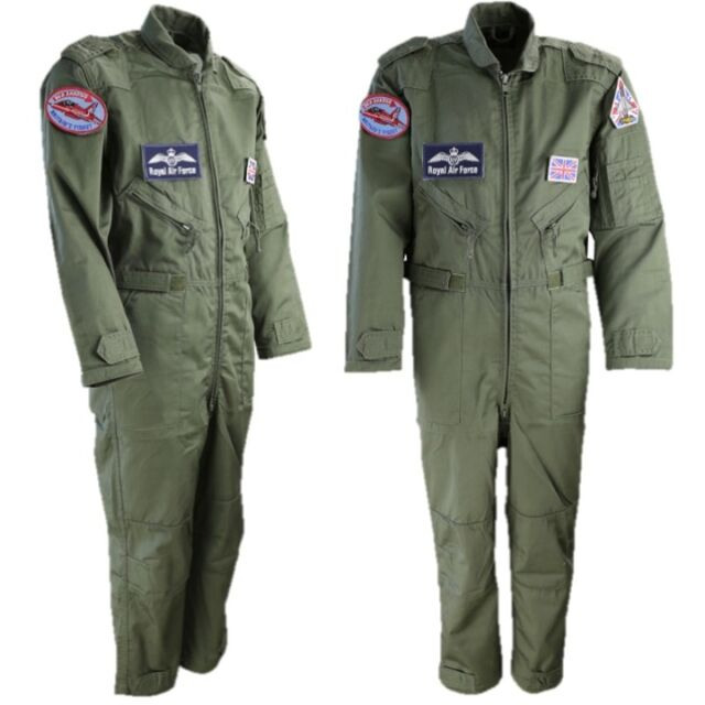 WORLD BOOK DAY BOYS RAF FLIGHT SUIT RED ARROWS ARMY PILOT COVERALLS COSTUME 50d69a2a1a0