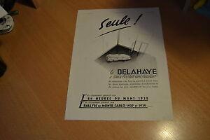 Publicité Delahaye De 1939 Xcni15sv-07225232-975111962