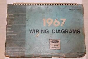 image is loading ford-service-training-wiring-diagrams-manual-1967-vol-