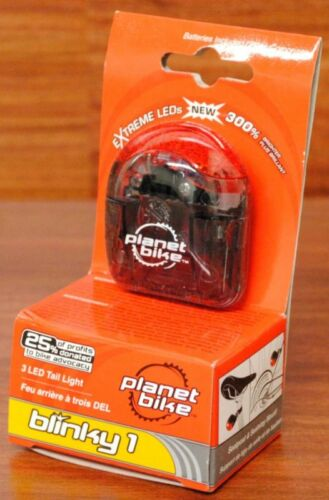 Planet Bike Blinky 1 Bicycle Rear Tail//Light LED