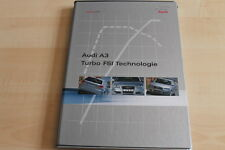 103596) Audi A3 + A4 DTM Edition + A6 2.0 TFSI Pressemappe 06/2005