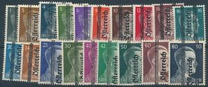 Stamp-Austria-Germany-1945-Post-WWII-3rd-Reich-Hitler-Osterreich-Not-Issued-MNG