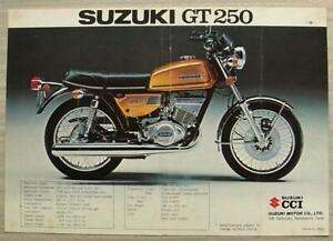 SUZUKI-GT250-M-amp-GT380-M-MOTORCYCLES-Sales-Specification-Leaflet-1975