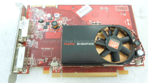HP ATI Radeon 508279-001 519291-001 109-B40861-21 FirePro V3700 256MB PCIe x16