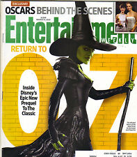 MILA KUNIS OZ Entertainment Weekly Magazine 3/8/13 TOMB RAIDER OSCAR NIGHT