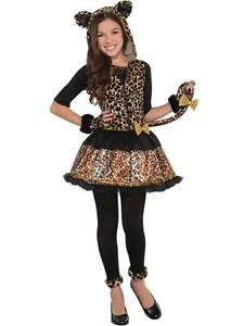 White leopard fancy dress