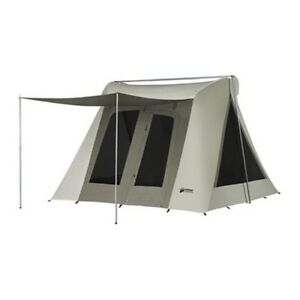 New-Kodiak-Canvas-6011VX-Six-Person-10-x-10-Ft-Scout-Camping-Tent-tarp-0510