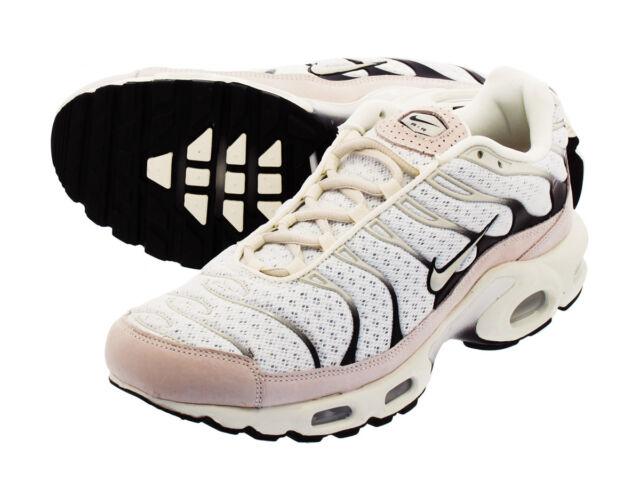 fc584fac10 NIke Nikelab Men's Air Max Plus Athletic Shoe Sail/Black 898018-100 Sz 10.5