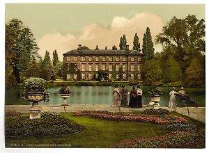 A3 Victorian View of Kew Gardens Museum Large Sized 16x11 inch Photo Poster NEW