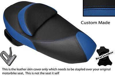 BLACK /& ROYAL BLUE CUSTOM FITS SUZUKI UH 125 200 BURGMAN DUAL SEAT COVER