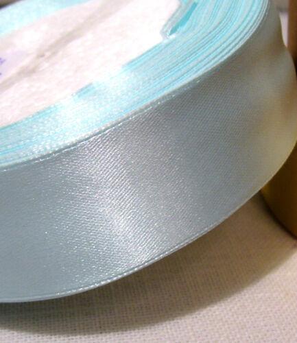 RUBAN SATIN UNI 25 mm X 1,50 mètre COLORIS AU CHOIX  SCRAPBOOKING COUTURE NOEUDS