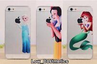 Ariel Mermaid SnowWhite Elsa Disney hard phone case cover iPhone 5 5S 5C 6 4 4s