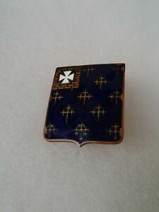 Authentic-WWII-US-Army-34th-Infantry-Regiment-DUI-DI-Unit-Crest-Insignia