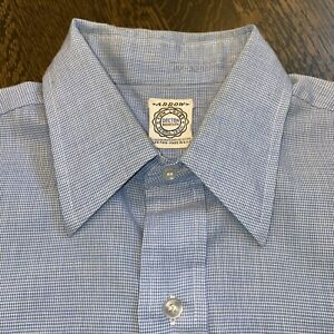 VTG-50s-60s-Pfeil-Damenhemd-decton-Tuch-Perma-Eisen-Jahrhundertmitte-Herren-15-32