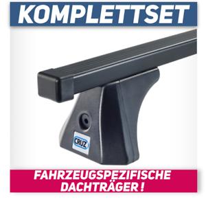 Stahl CR3-FP Spezifischer Dachträger für Mercedes C-Klasse W204 4-Tür 07-14 kpl
