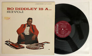 Bo-Diddley-Is-A-Lover-1961-US-Mono-Checker-LP-2980-EX-Ultrasonic-Clean