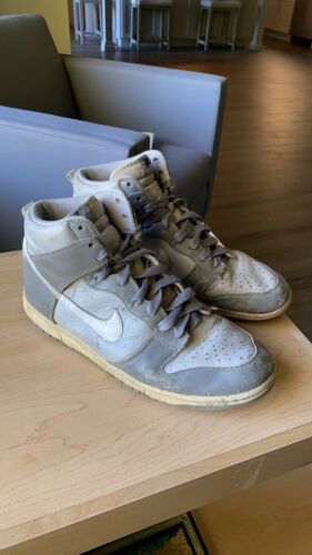 Vintage 08' Nike Nuetral Gray Dunks Highs Size 11