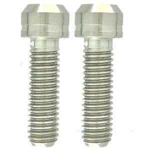 Details about 2 Titanium Bolts M6 x 20mm Crank Arm bolts Shimano Same day  shipping