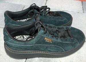 super populaire 24f62 17d99 Détails sur CHAUSSURE PUMA SUEDE taille EUR 36 UK 3.5 US 6 sweden shoes  boots Sneakers DAIM