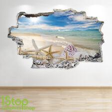 LOVE CLOUD WALL STICKER 3D LOOK OCEAN SEA BEACH BEDROOM LOUNGE Z181