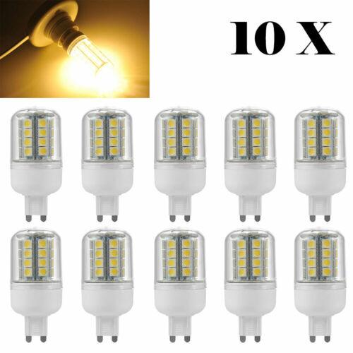 10X 4W G9 LED SMD Birne Leuchte Lampe Warmweiß Leuchtmittel SpotLicht Lampe