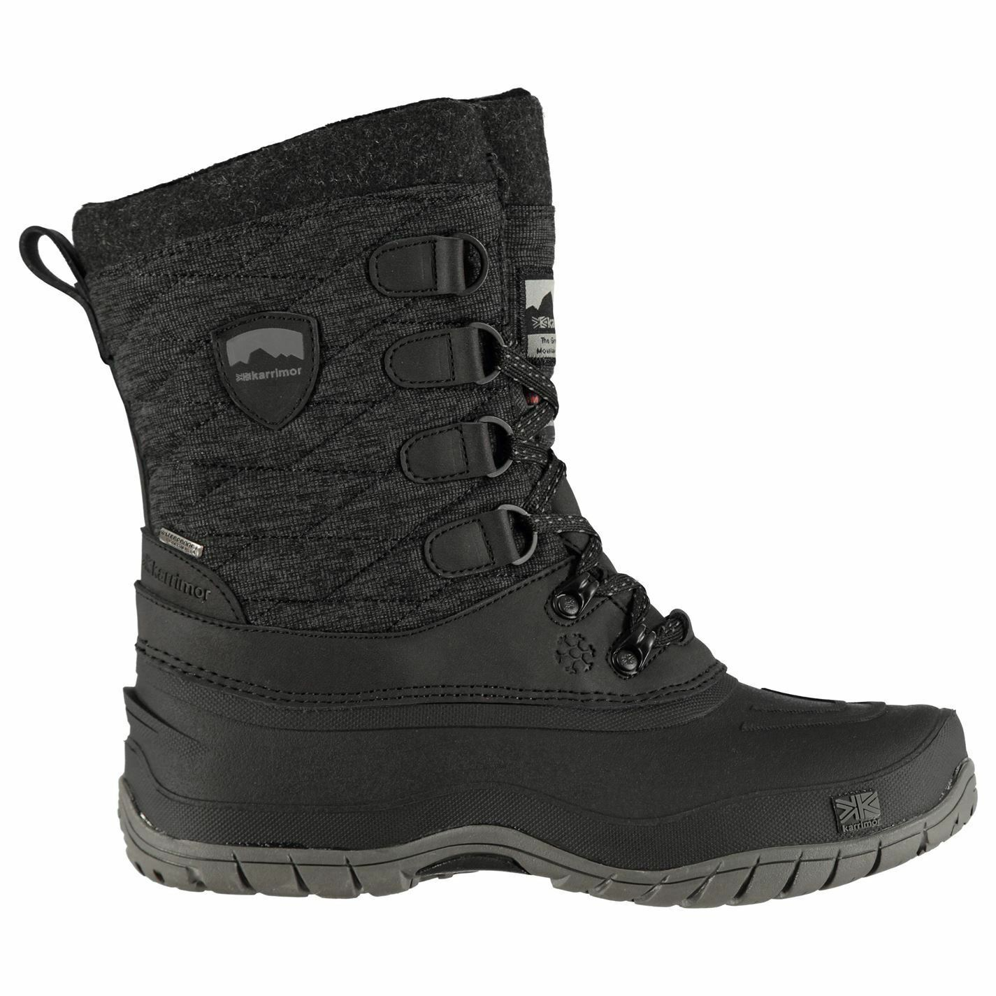 Karrimor Karrimor Karrimor Valerie Snowfur 3 Boots Ladies Snow shoes Laces Fastened Water 0edbab
